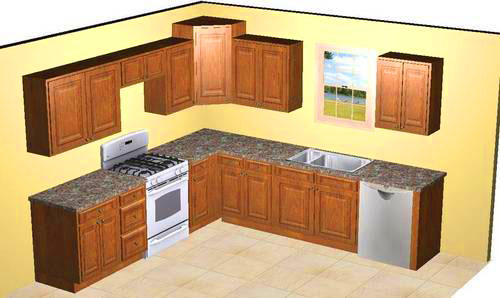 Pictures of 10x10 kitchens best home decoration world class for Ideas for 10 x 16 kitchen