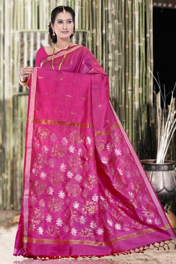uppada-lotus-pink-saree