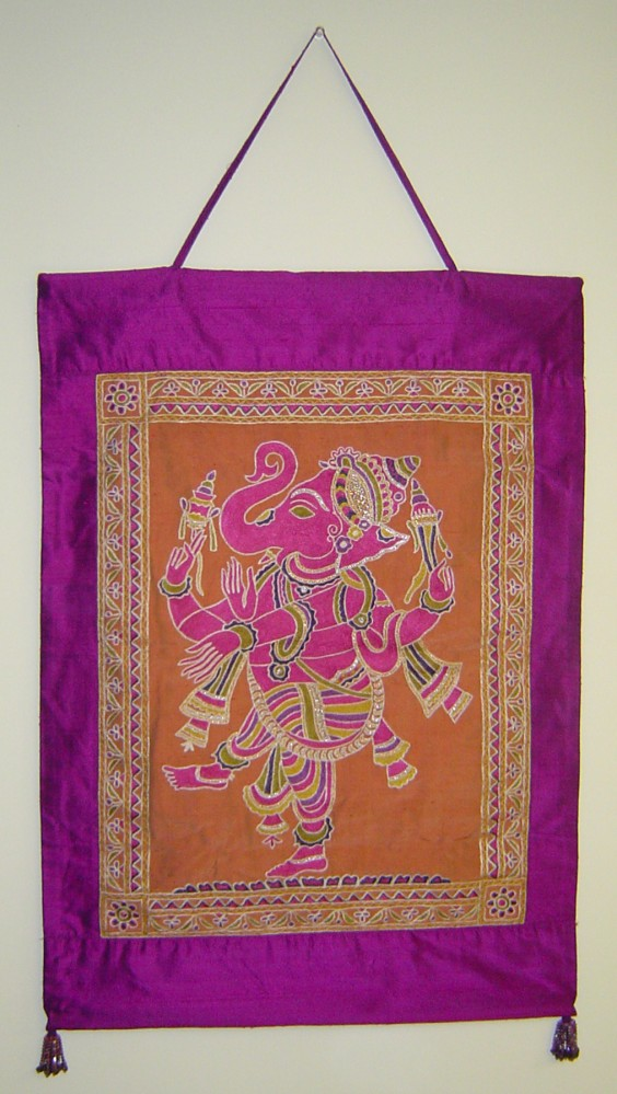 embroidered-ganesha-wall-hanging