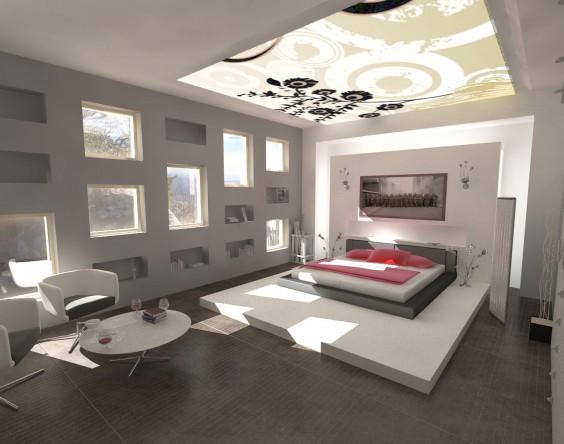 Innovative Modern Bedroom