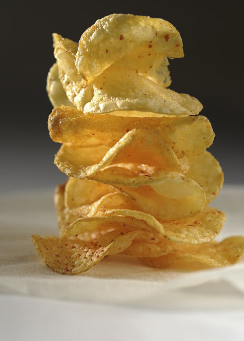Food Photography - Hot Chips