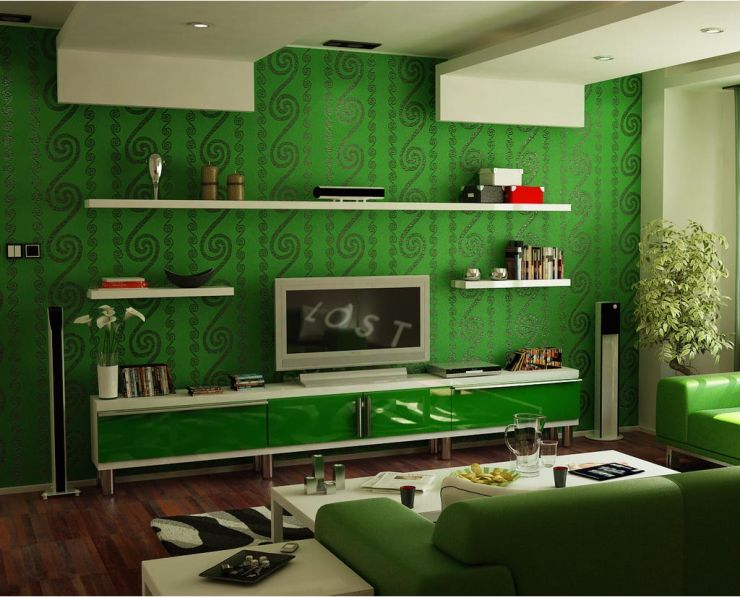 Green living room ideas for Green living room ideas