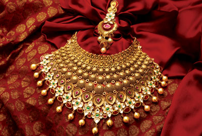 from carat gold bridal manubhai necklace heavy jewellers n sets