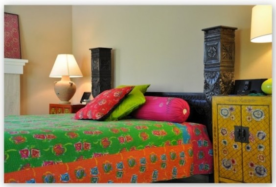 Indian Ethnic Bedroom Interiors I