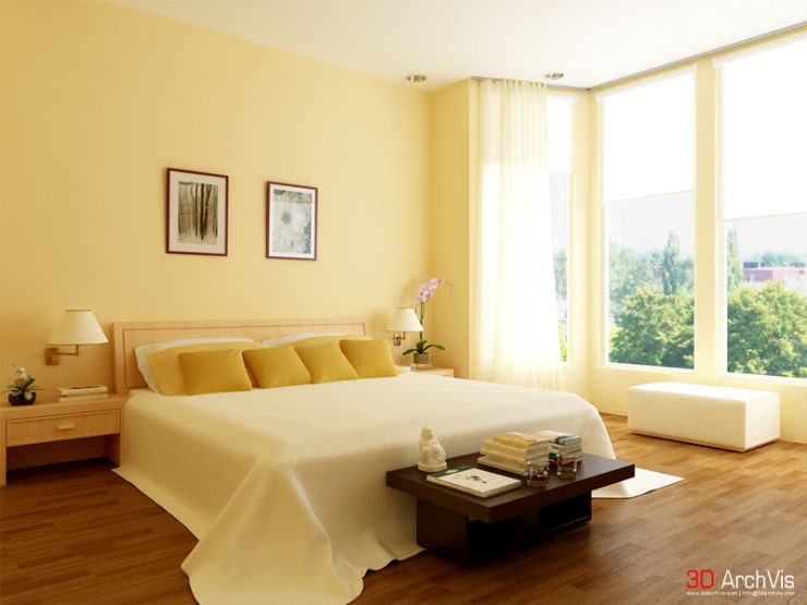 Small And Elegant Bedroom Interiors