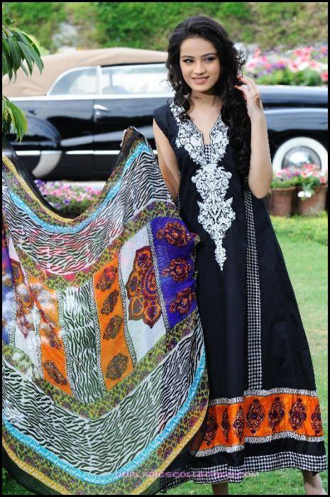 Shirin Hassan Block Print Summer Lawn Collection 2012