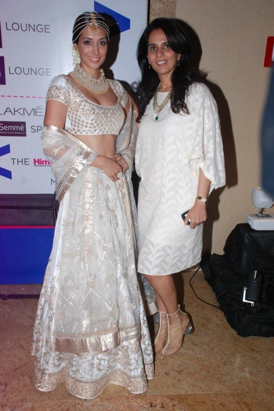 Preeti Desai with Anita Dongre