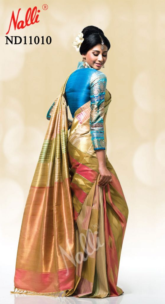 Designer Full Sleeves Blouses for Kanjeevarams from Nalli ...