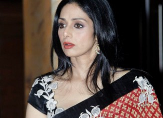 bollywood queen sridevi designer sarees