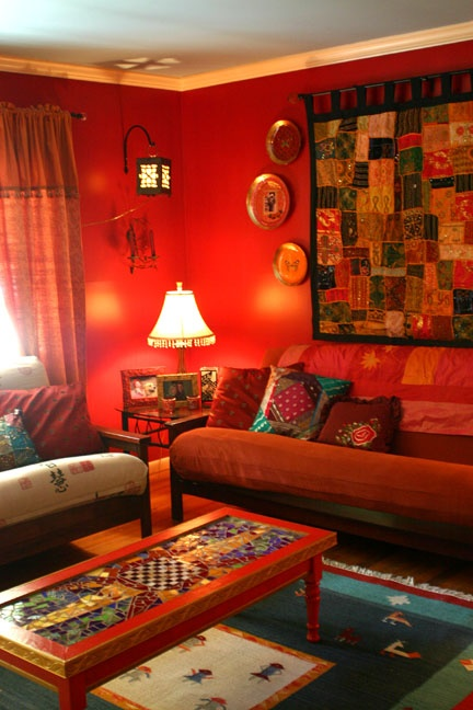 Ethnic indian living room interiors for Interior design ideas living room indian style