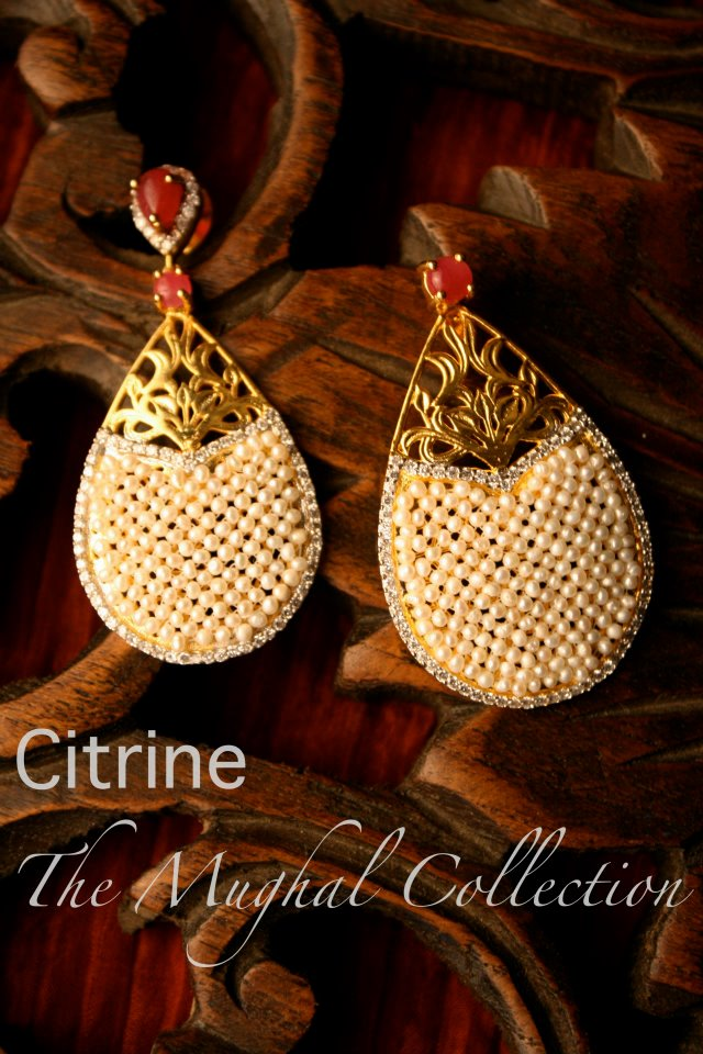 CITRINE_Mughal-inspired-collection-earrings