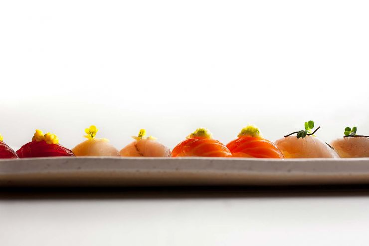 Assorted Nigiri platter-francesco-tonelli-food-photography