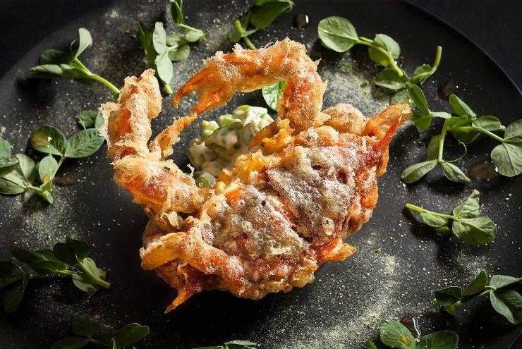 Soft shell crab-francesco-tonelli-food-photography