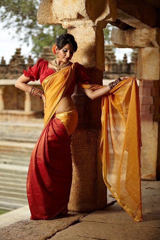 shrishti-latha-puttanna-ethnic-sarees