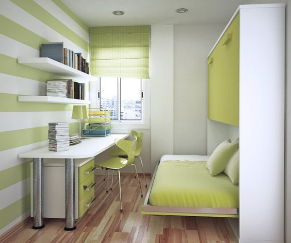 striped-wall-livingroom-kitchen-bedroom-interiors