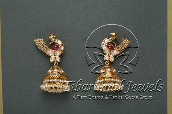 bird-shaped-jhumkas