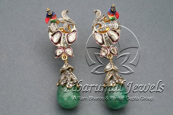 emerald-drops-earrings