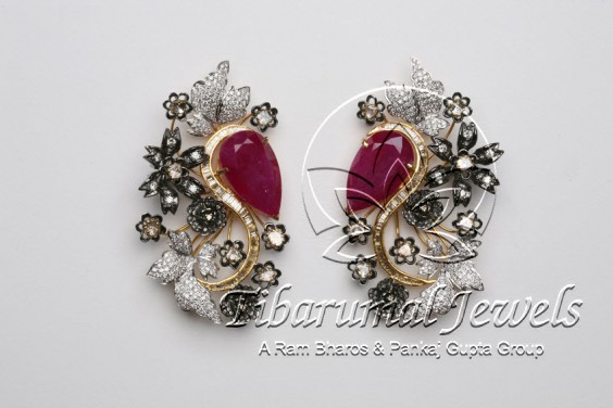 ruby-diamond-earrings