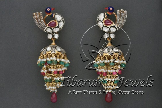 ruby-emerald-earrings