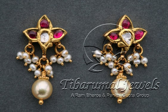 ruby-pearl-earrings
