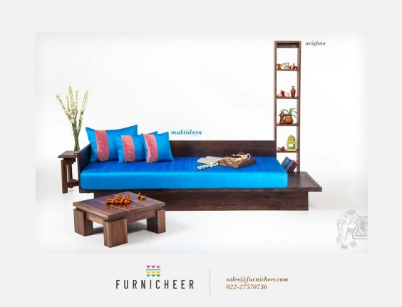 blue sofa from furnicheer-ethnic-furniture