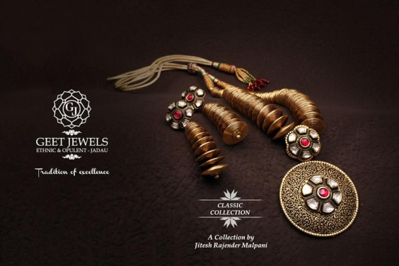 classic collection necklace from geet jewels