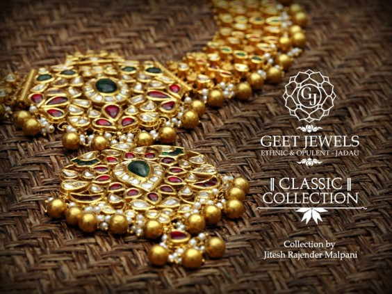 classic necklace from geet jewels