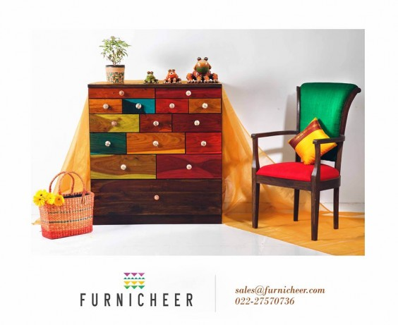 multicolour chest from furnicheer-ethnic-furniture
