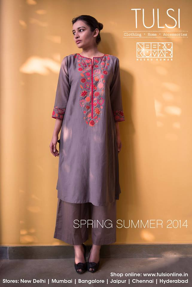 Kurtas, Kurta Sets, Dresses, Tunics, Pants in Tulsi online