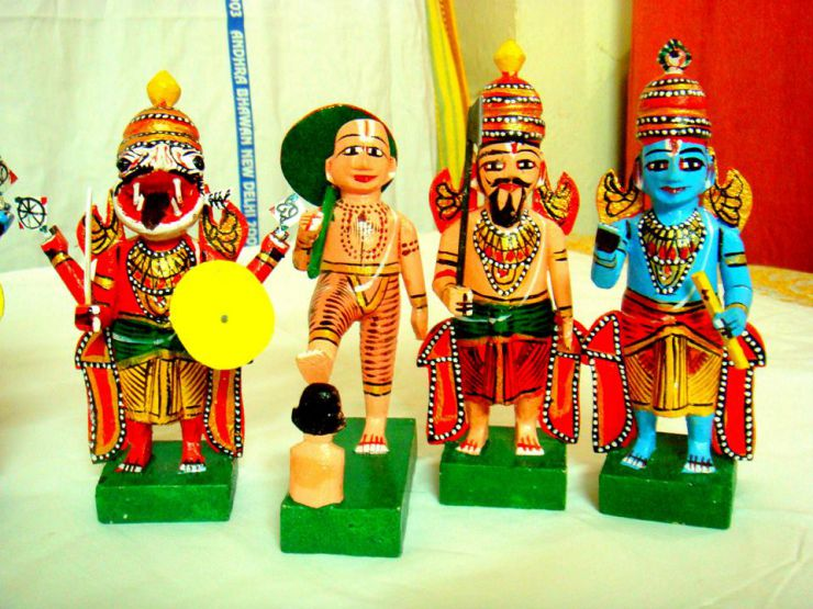 dasavataram Kondapalli Toys