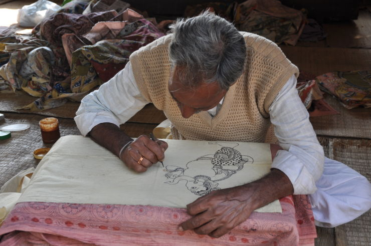 pen_Kalamkari_painting