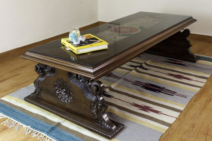 antique center table