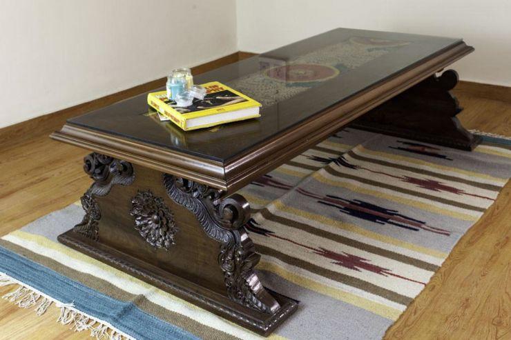 antique center table